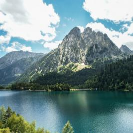 Sant Maurici Lake, Catalan Pyrenees