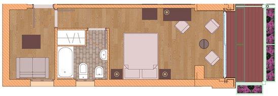 Junior suite confort