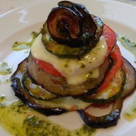 Restaurant gastronòmic detall del plat Hotel La Morera València d'Àneu Lleida