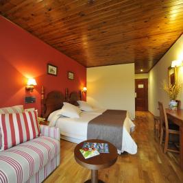 Double confort room Hotel La Morera València d'Àneu Lleida