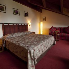 Junior suite Bonaigua Hotel la Morera València d'Àneu Lleida