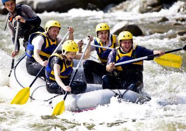 Sports d'aventure, rafting