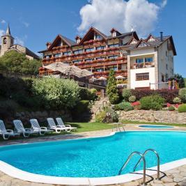 Hotel la Morera pool València d'Àneu Lleida
